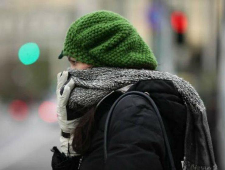 Καιρός - χαμηλή θερμοκρασία