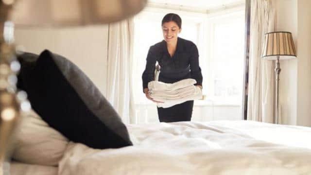 Καθαριότητα σε δωμάτιο ξενοδοχείου