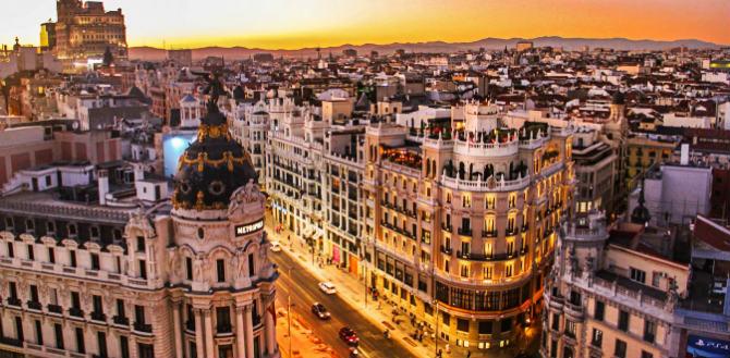 Μαδρίτη ,ισπανικές πόλεις