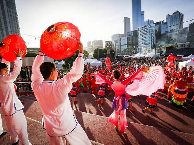Κινέζικη Πρωτοχρονιά στη Μελβούρνη
