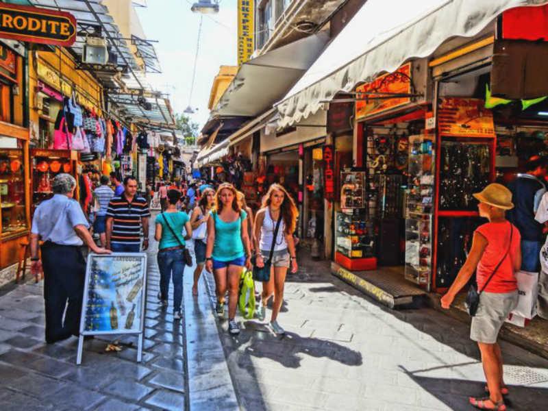 αγορές της Αθήνας