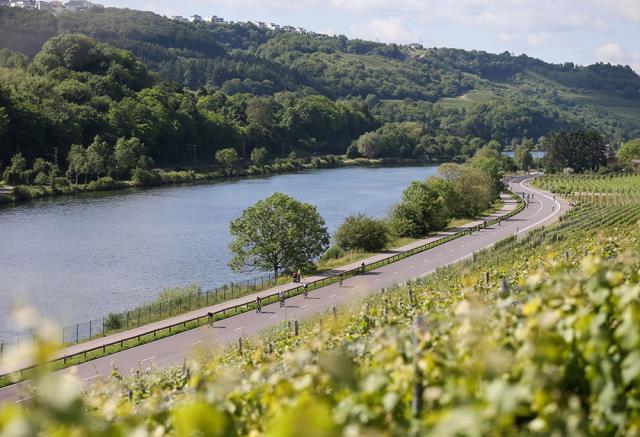 Ποταμός Moselle, Λουξεμβούργο