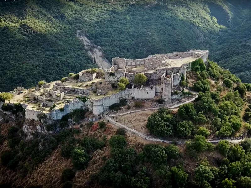 Μυστράς: Ένα τοπίο βγαλμένο από το Game of Thrones! (video)