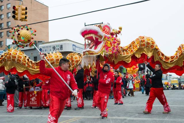 Κινέζικη Πρωτοχρονιά στη Νέα Υόρκη