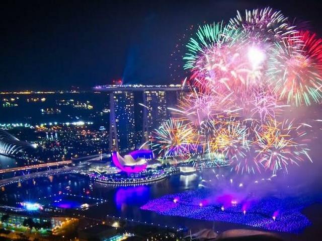 Κινέζικη Πρωτοχρονιά στη Σιγκαπούρη