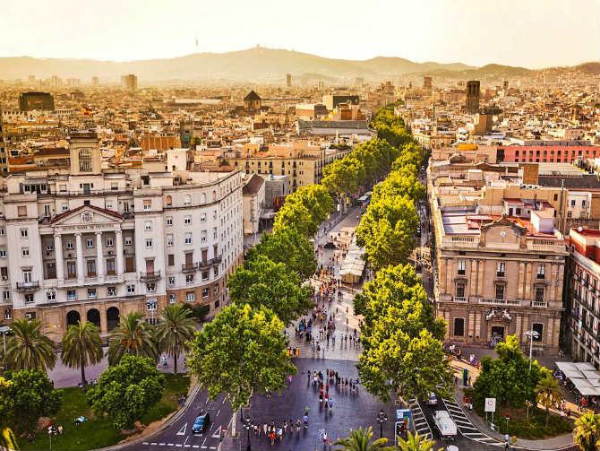 Βαρκελώνη ,ισπανικές πόλεις