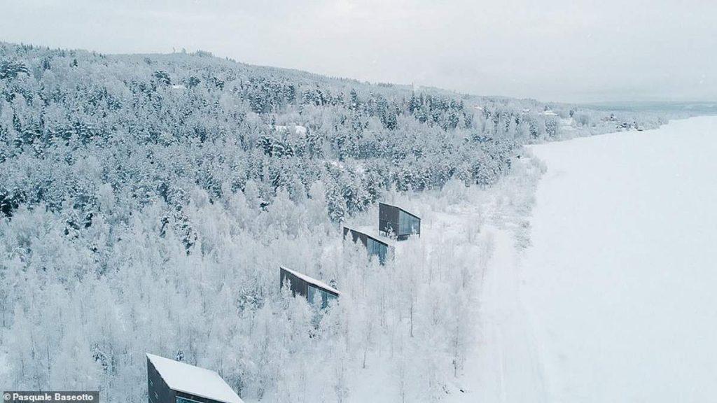 Ξενοδοχείο Arctic Bath - δωμάτια στη στεριά