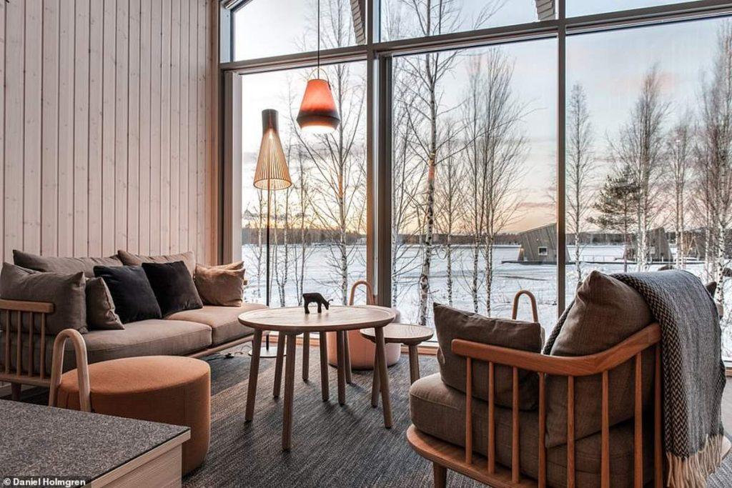 Ξενοδοχείο Arctic Bath σαλόνι