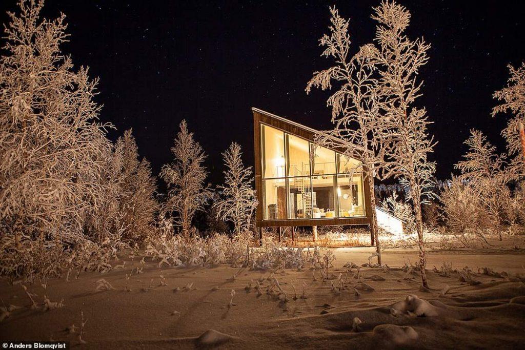 Πλωτό ξενοδοχείο Arctic Bath δωμάτιο 1