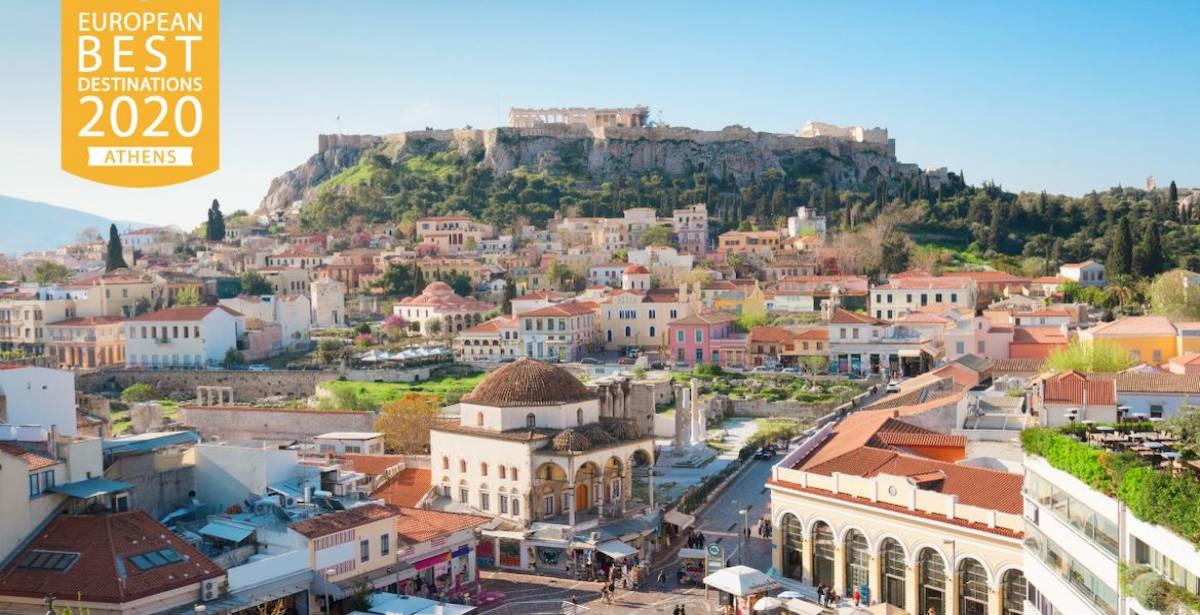 Η Αθήνα δεύτερος καλύτερος προορισμός στην Ευρώπη για το 2020! Δείτε όλη τη λίστα!