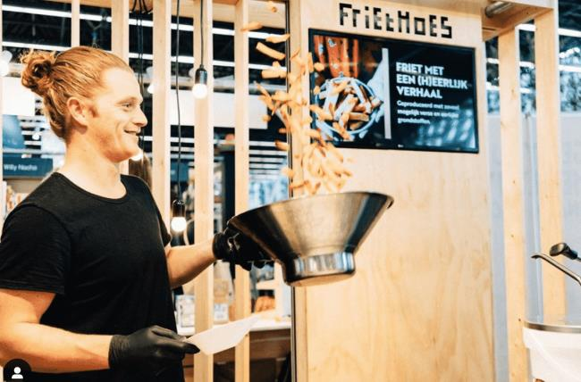 FrietHoes - τηγανιτές πατάτες Άμστερνταμ