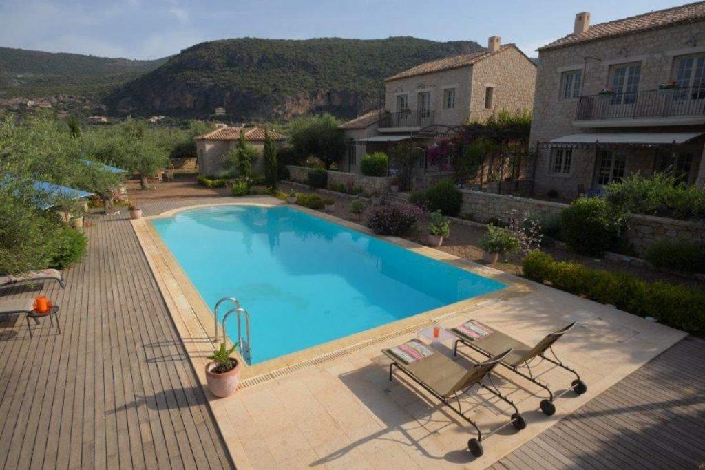 Ξενώνας Liodentra, Καρδαμύλη - εξωτερική άποψη