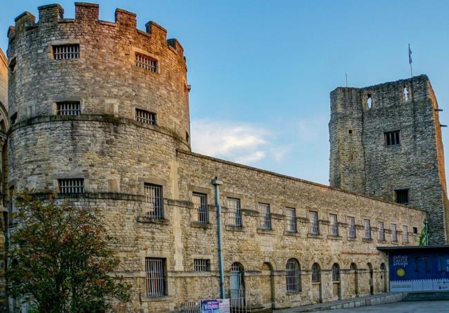 Κάστρο της Οξφόρδης, Αγγλία