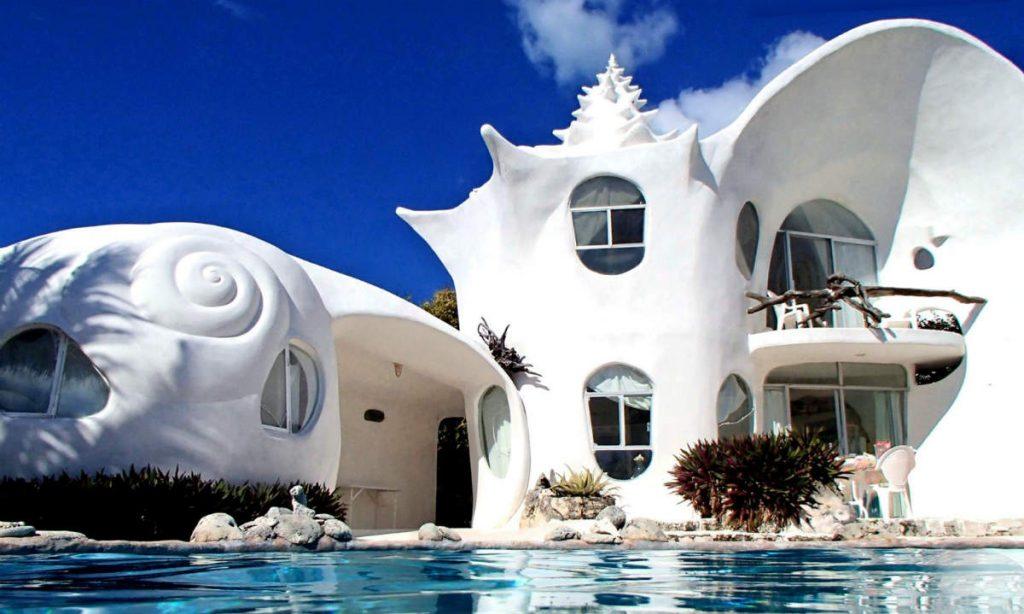 Seashell House, Isla Mujeres, Μεξικό