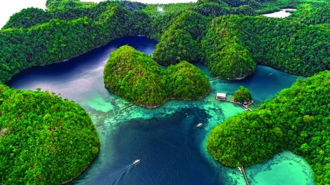 Σιαργκάο, νησί στις Φιλιππίνες