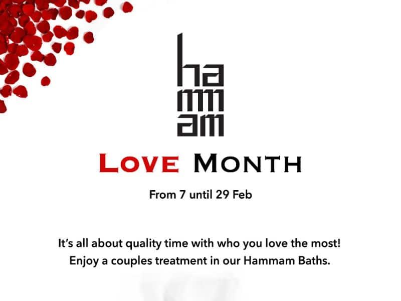 Hammam Baths: Γιορτάστε τις ημέρες αγάπης με τον πιο μοναδικό τρόπο!