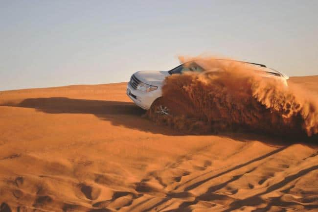Η μαγική έρημος του Άμπου Ντάμπι