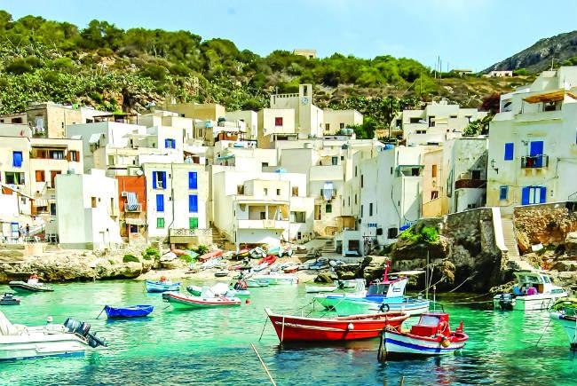 Αιγάδες Νήσοι, Ιταλία