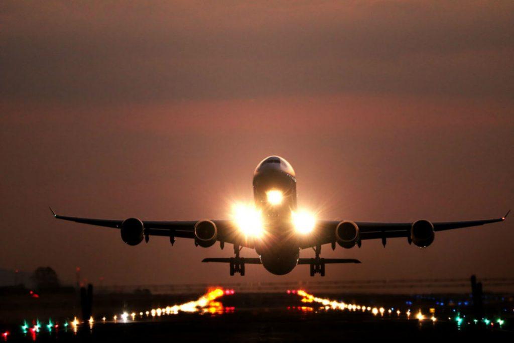 Αεροπλάνο κατά την απογείωση