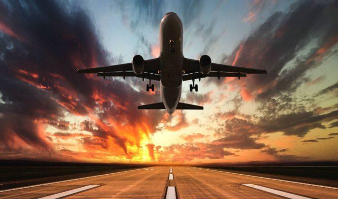 Αεροπλάνο απογείωση