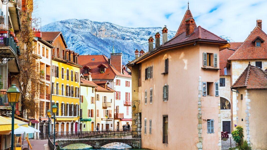 Ανεσί Γαλλία ρομαντική πόλη