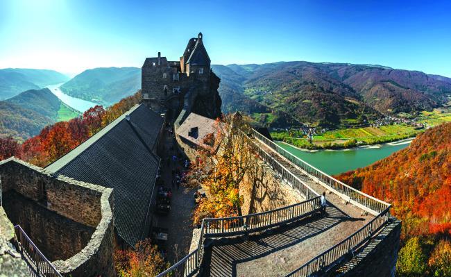 Κάστρο Aggstein, Αυστρία