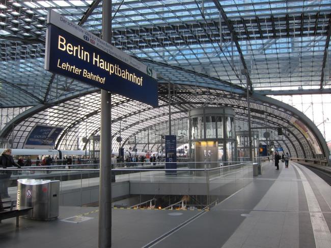 Σταθμός Berlin Hauptbahnhof