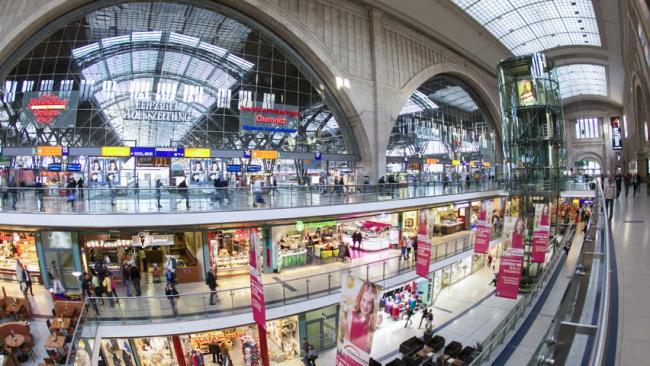 Berlin Hauptbahnhof εμπορικό κέντρο