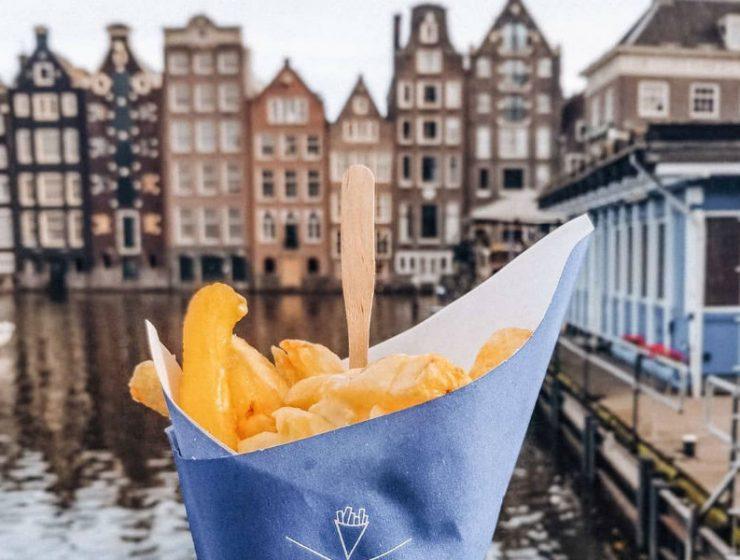 Ανακαλύψαμε που θα φάτε τις καλύτερες τηγανιτές πατάτες στο Άμστερνταμ!