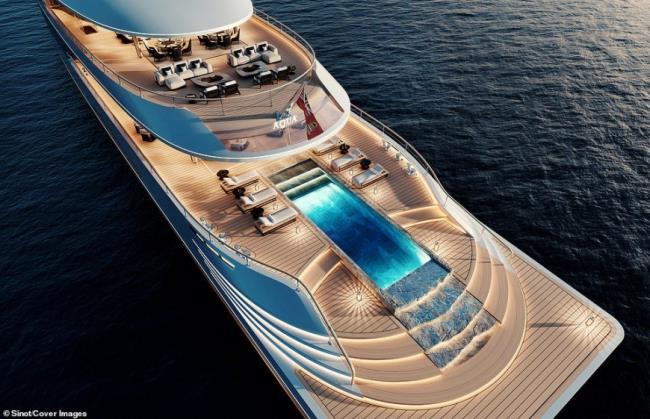 Aqua superyacht - σκάφος Μπιλ Γκέιτς