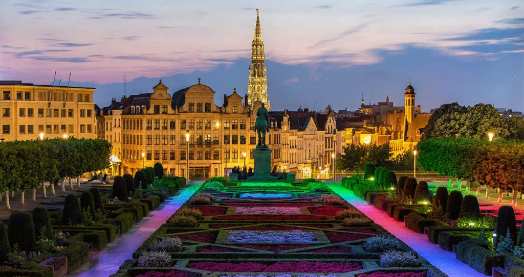 Τα Πάρκα της Πόλης, Βρυξέλλες