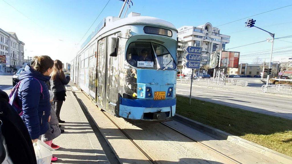 Κραϊόβα τραμ