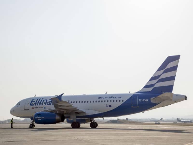 Ellinair δρομολόγια - αεροσκάφος Airbus A320