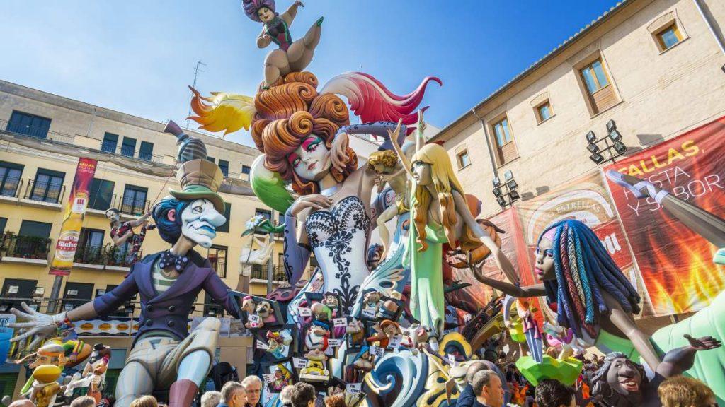 Fallas φεστιβάλ, Βαλένθια