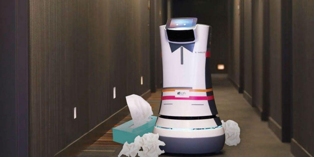 Botlr: Ρομπότ στα ξενοδοχεία