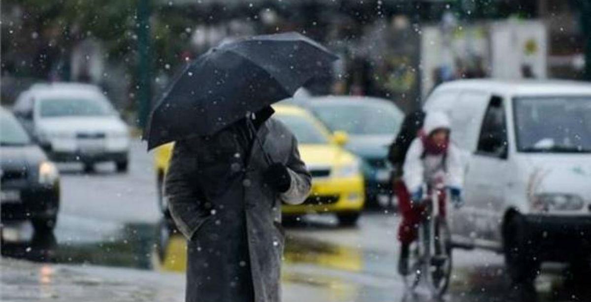 Καιρός: Χαλάει από το βράδυ με βροχές, ισχυρούς ανέμους, αλλά και χιόνια!