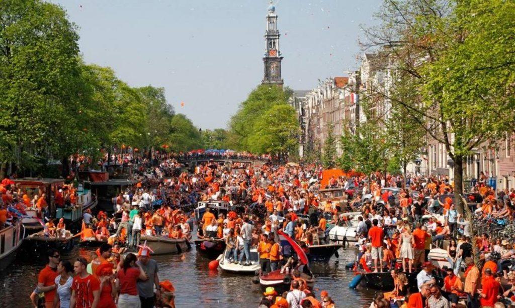 King's Day, φεστιβάλ Ολλανδία
