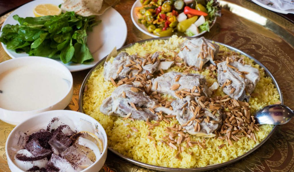 Μανσάφ - ιορδανική κουζίνα