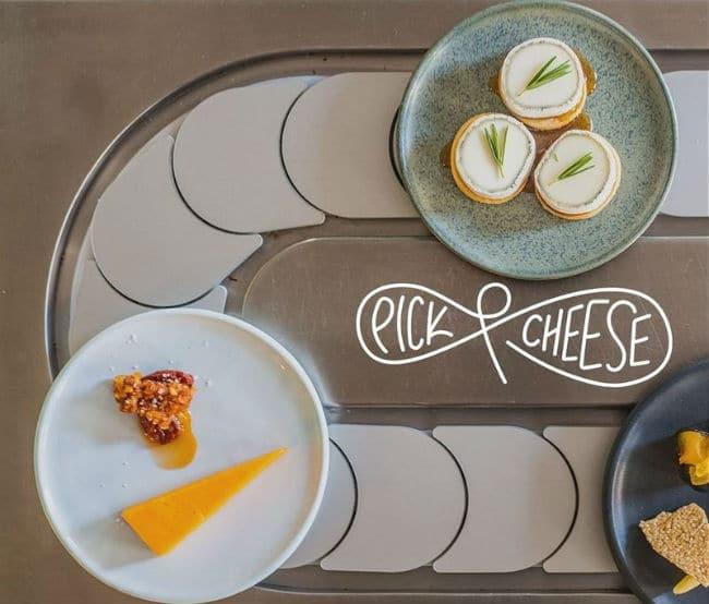 Pick & Cheese - περιστρεφόμενο τυρί
