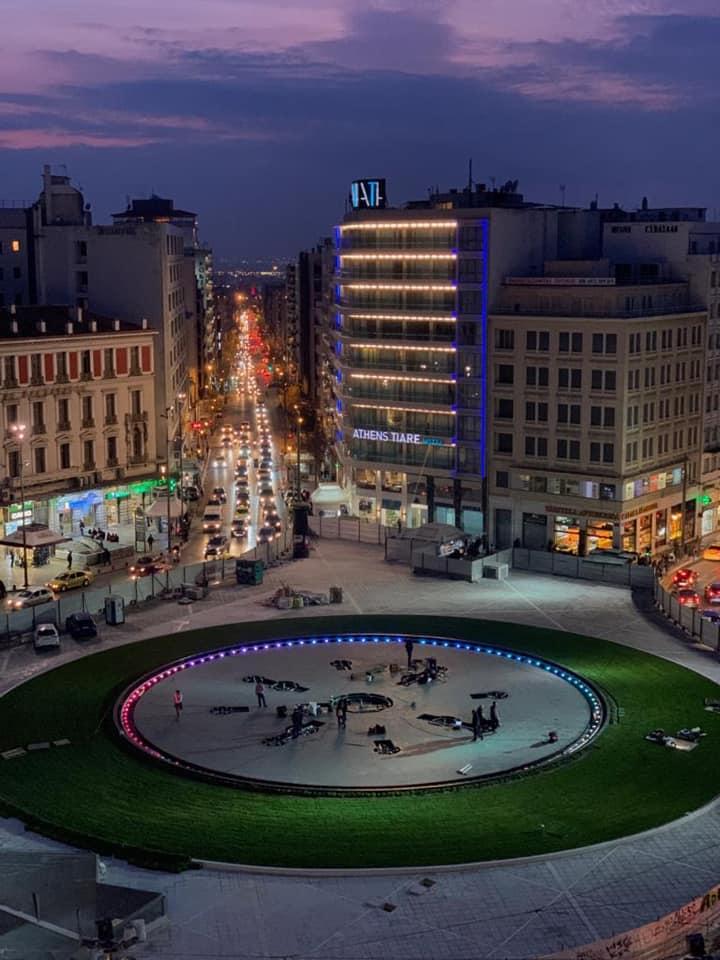 Πλατεία Ομονοίας νέο συντριβάνι