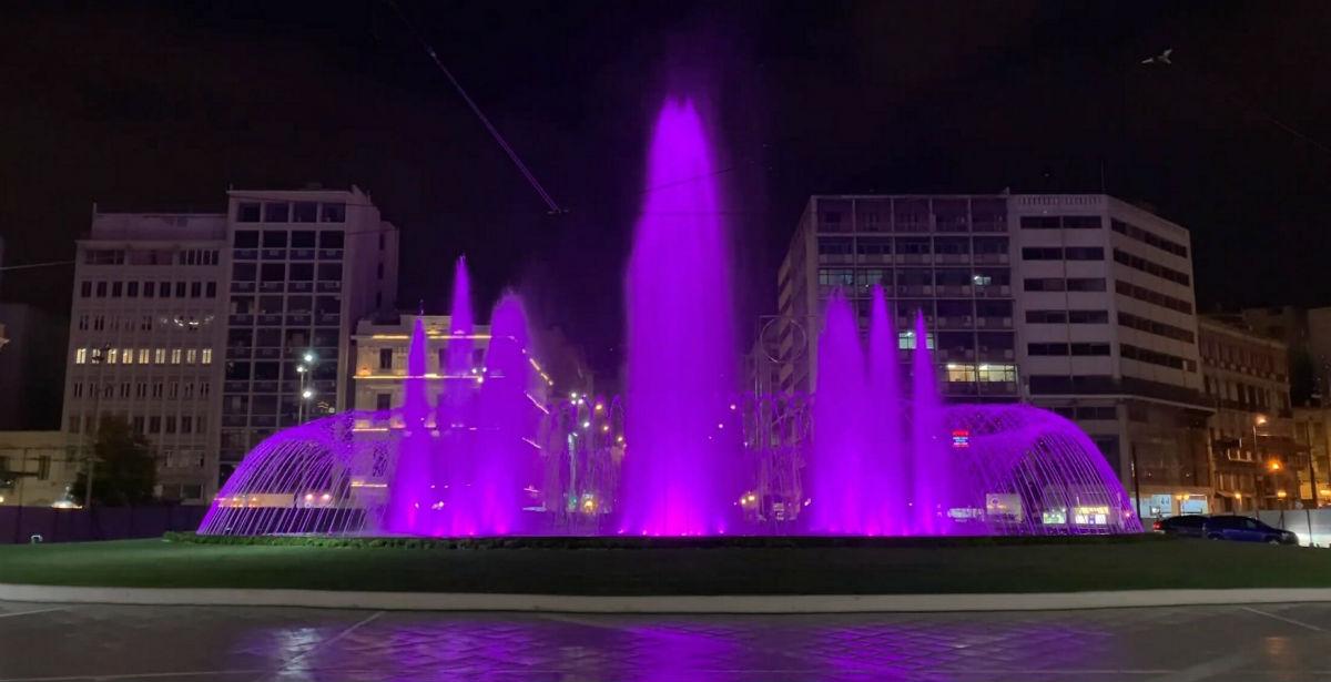 Πλατεία Ομονοίας: Νέα εποχή για το ιστορικό συντριβάνι! Εντυπωσιακές εικόνες και βίντεο…