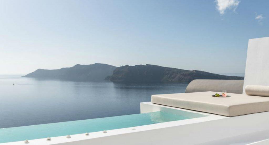 Saint Santorini πισίνα