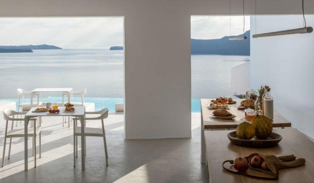 Saint Santorini πρωινό