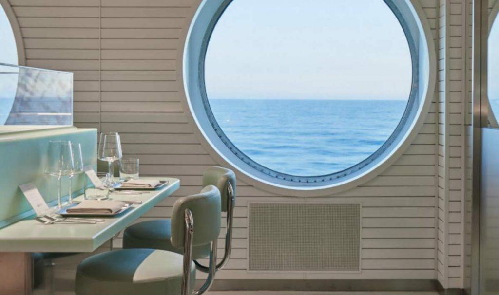 Κρουαζιερόπλοιο Scarlet Lady εστιατόρια