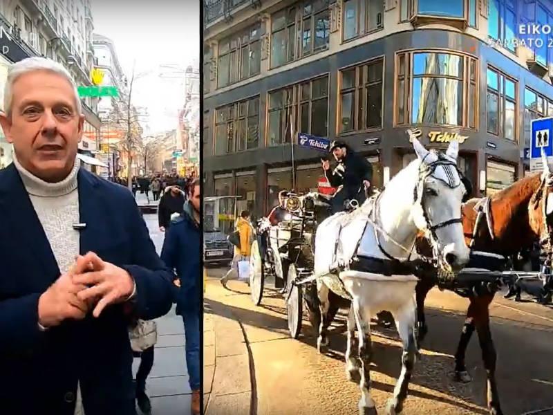 Εικόνες με τον Τάσο Δούση στη Βιέννη - trailer