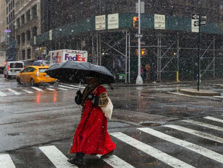 Καιρός με βροχές και χιόνια
