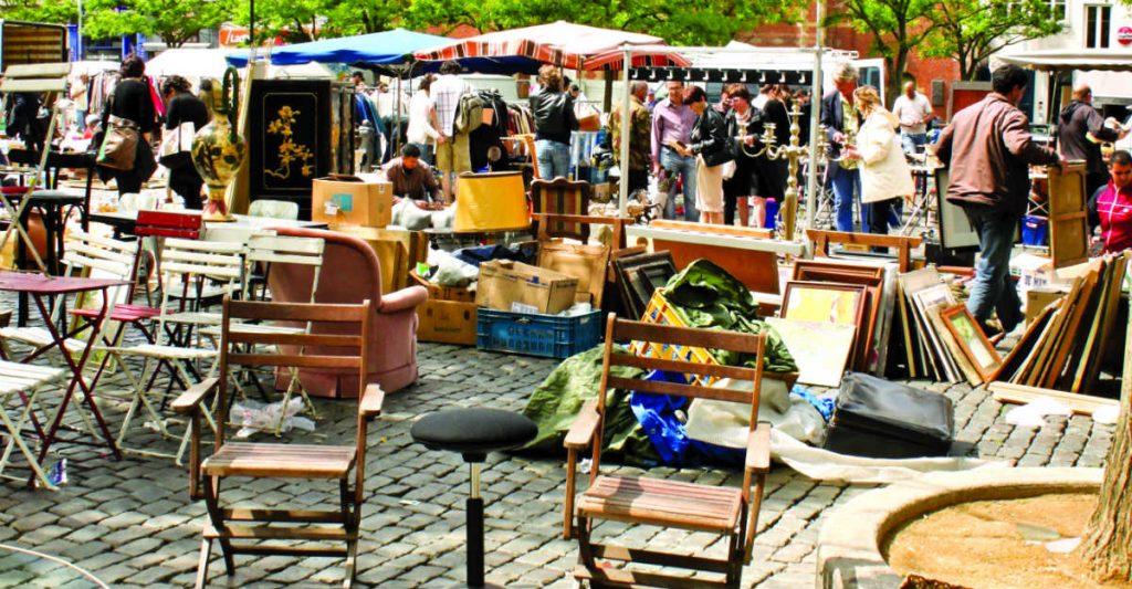 Marolles Flea Market, Βρυξέλλες