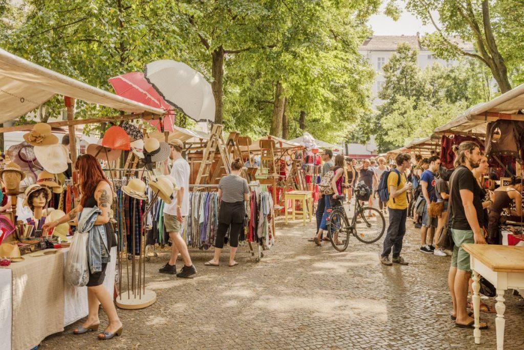Flohmarkt: υπαίθρια αγορά του Βερολίνου