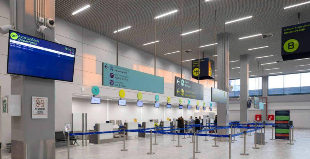 αεροδρόμια νέα μέτρα και κλείσιμο εστίασης