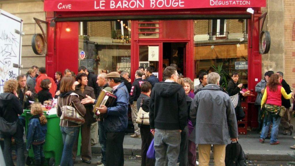 Le Baron Rouge κάβα